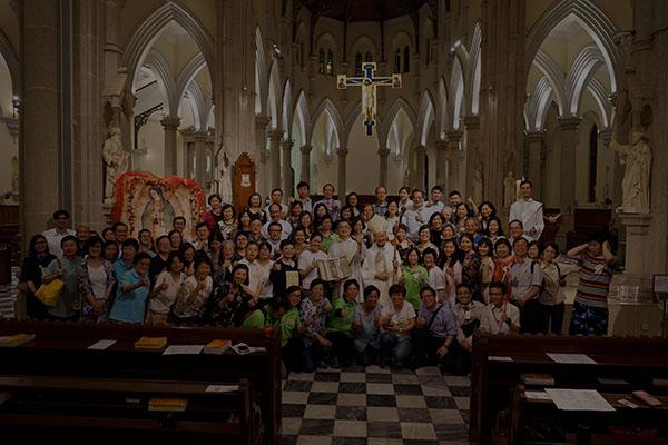 「維護生命」感恩聖祭團體照